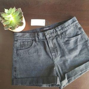 Jbrand Black Denim Shorts